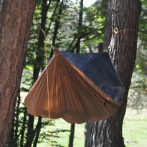 Hamak Outdoor Flyhamak I coyote brown